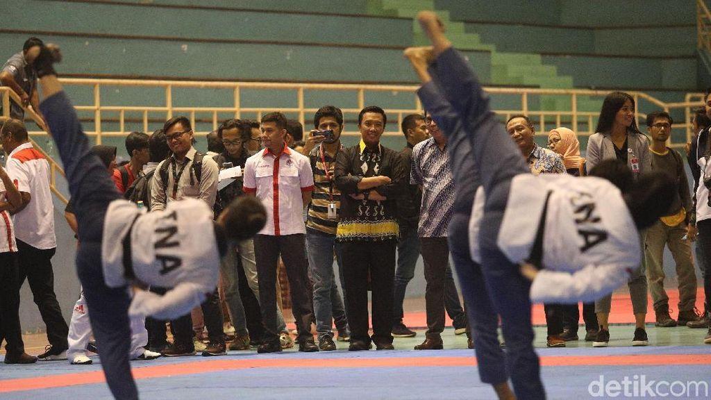 Tinjau Pelatnas Taekwondo, Menpora Bicara Peluang di Asian Games