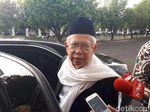 Maruf Amin: Jokowi Respons Positif soal Amendemen UUD 1945