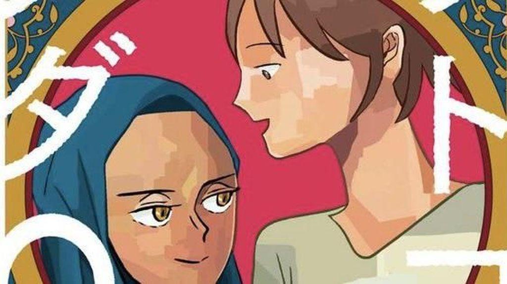 Manga Persahabatan Warga Jepang dan Perempuan Muslim Terbit di Jepang