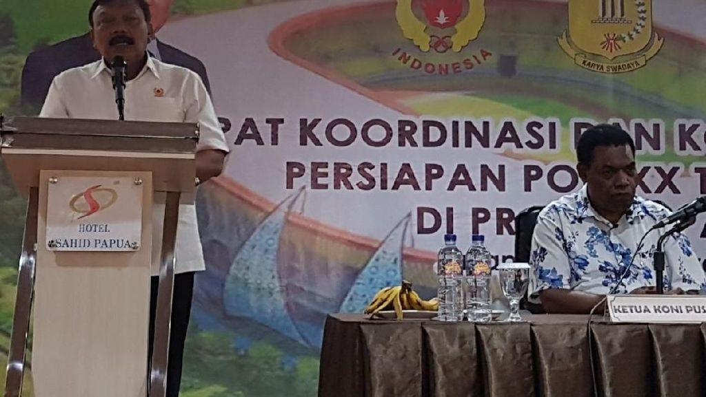 Kunjungi Papua, KONI Gelar Rakordasi PON 2020