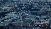Ekaterinburg Kota Besi di Perbatasan Eurasia