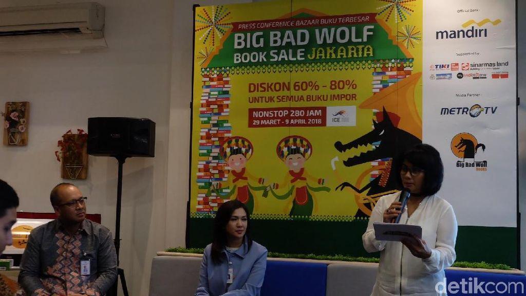 Big Bad Wolf 2018 Hadir Lagi Selama 13 Hari 280 Jam Non Stop