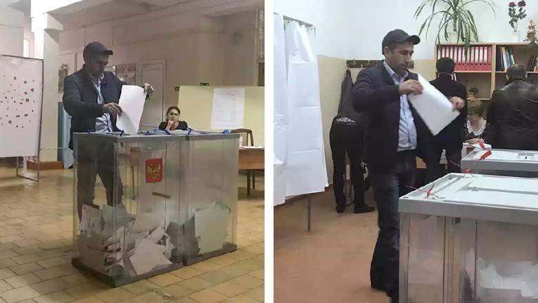 Belasan Warga Rusia Nyoblos 2 Kali di Pilpres, Benarkah?
