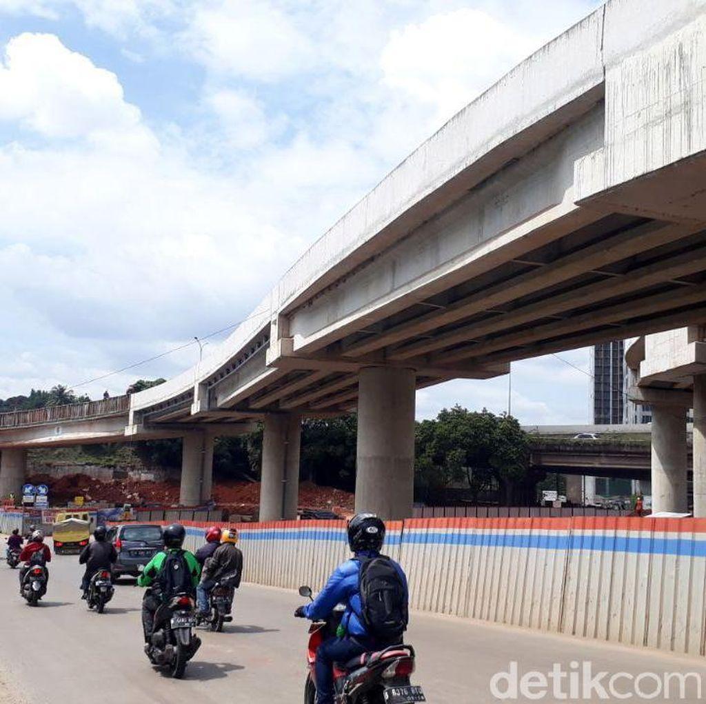 Hampir Beres, Proyek Simpang Susun Antasari Capai 98%