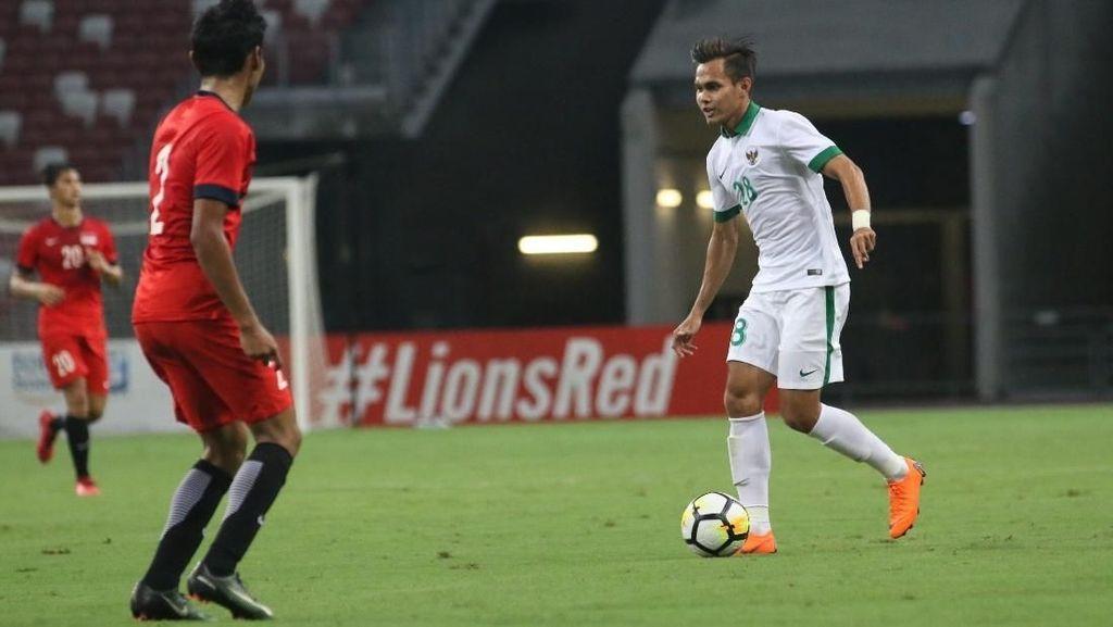 Timnas Indonesia U-23 Tekuk Singapura 3-0