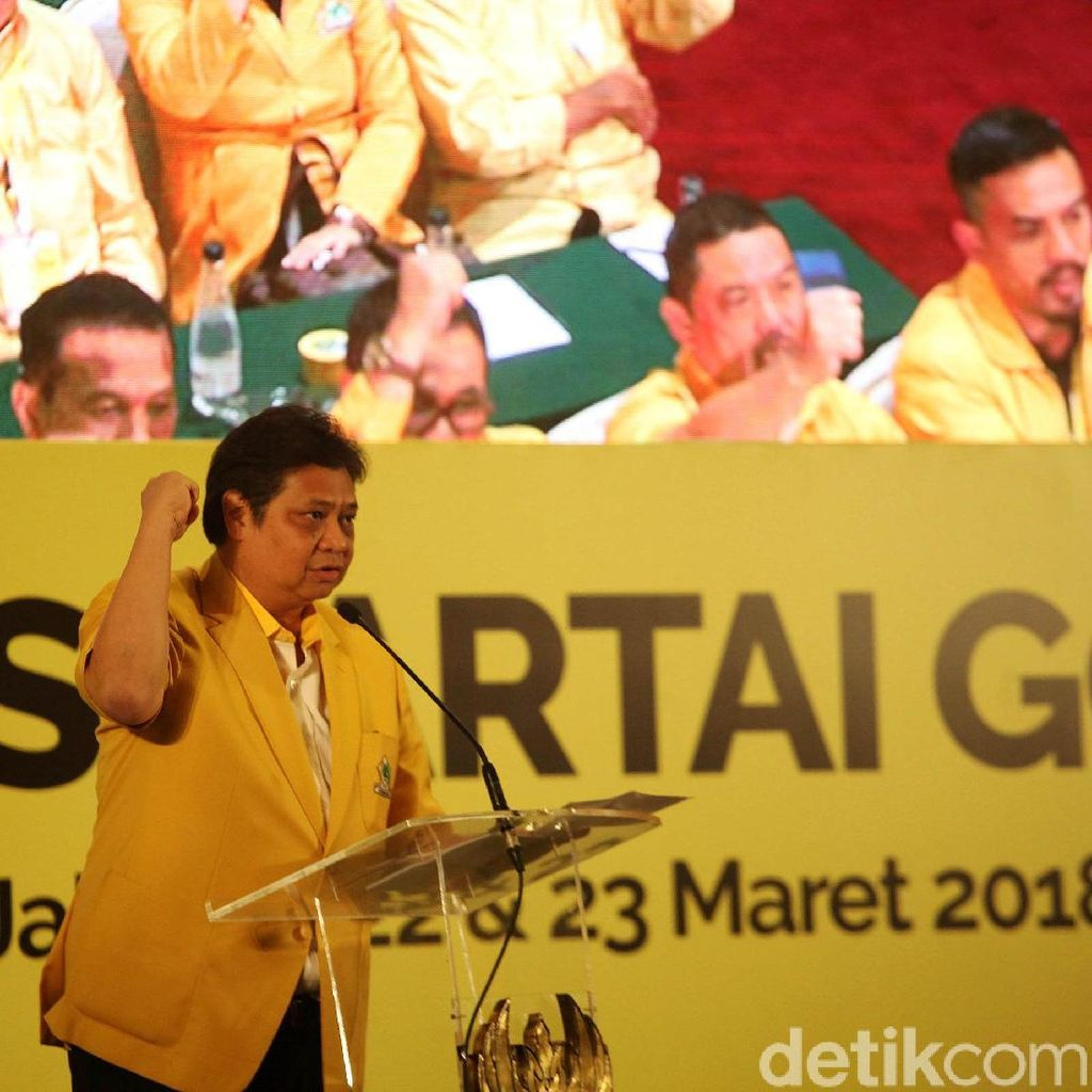 Golkar Targetkan 110 Kursi di Pemilu 2019
