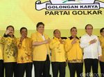 Foto: Mengitip Rakernas Golkar yang Bahas Opsi Duet Jokowi-Airlangga