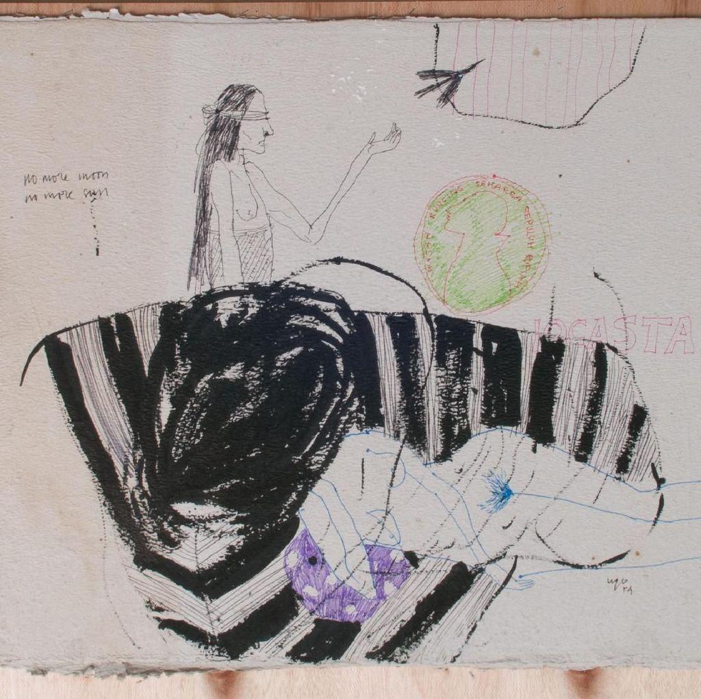 Pameran Tunggal Ugo Untoro Tandai Pembukaan galerikertas Studio Hanafi