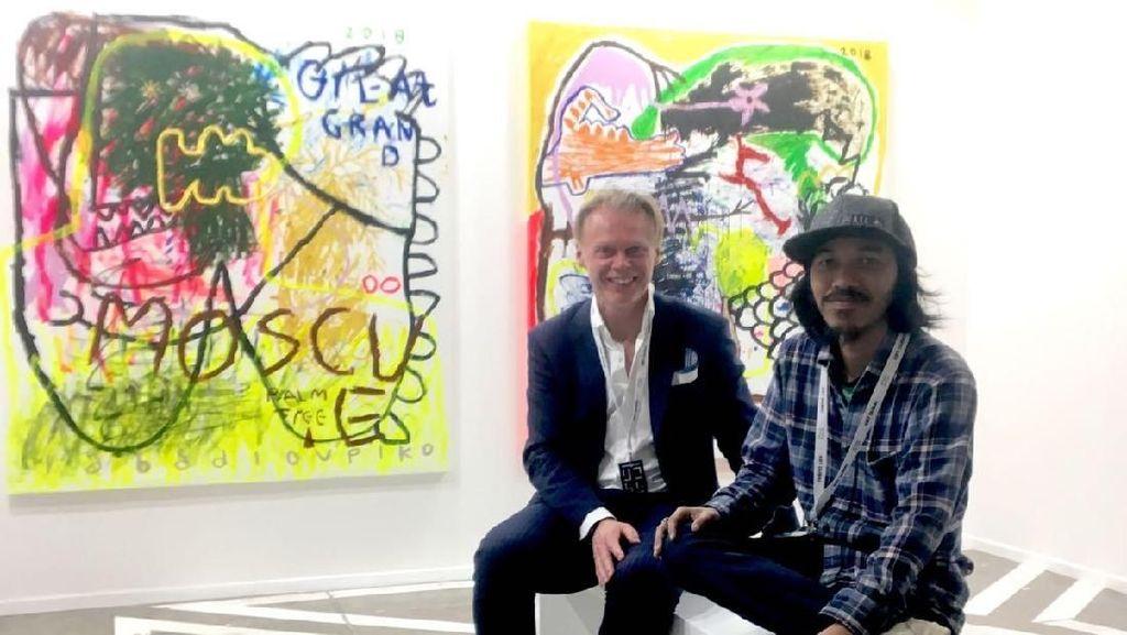 Iabadiou Piko Pamer Karya di Art Dubai 2018