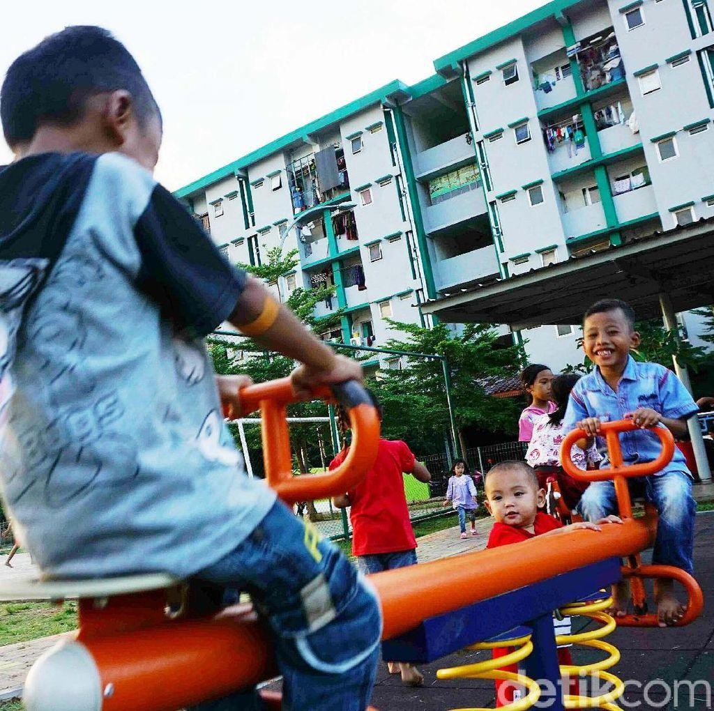 Intip Keceriaan Anak-anak di RPTRA Rusun Muara Indah