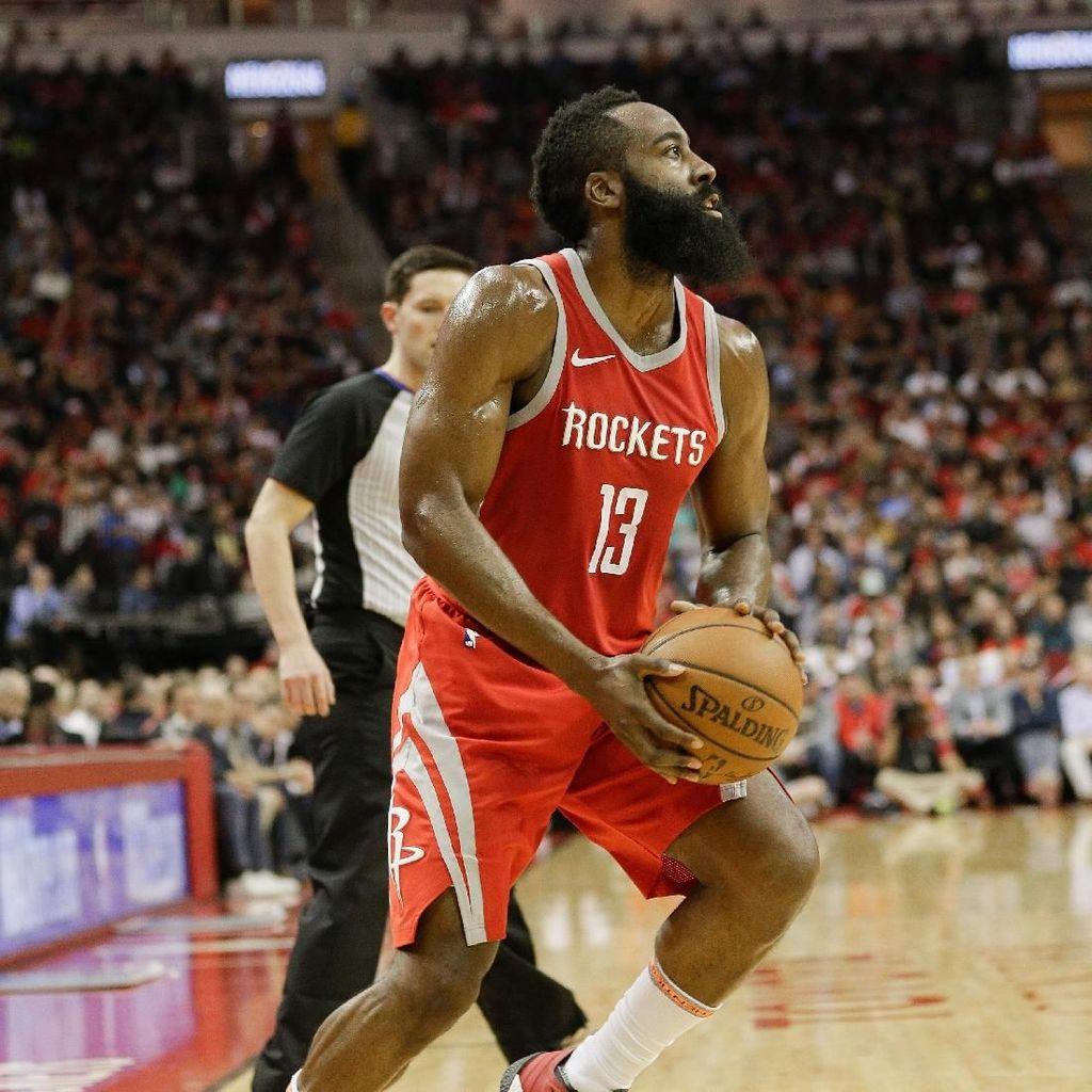Kalahkan Pistons Lewat OT, Rockets Samai Rekor Musim Terbaiknya