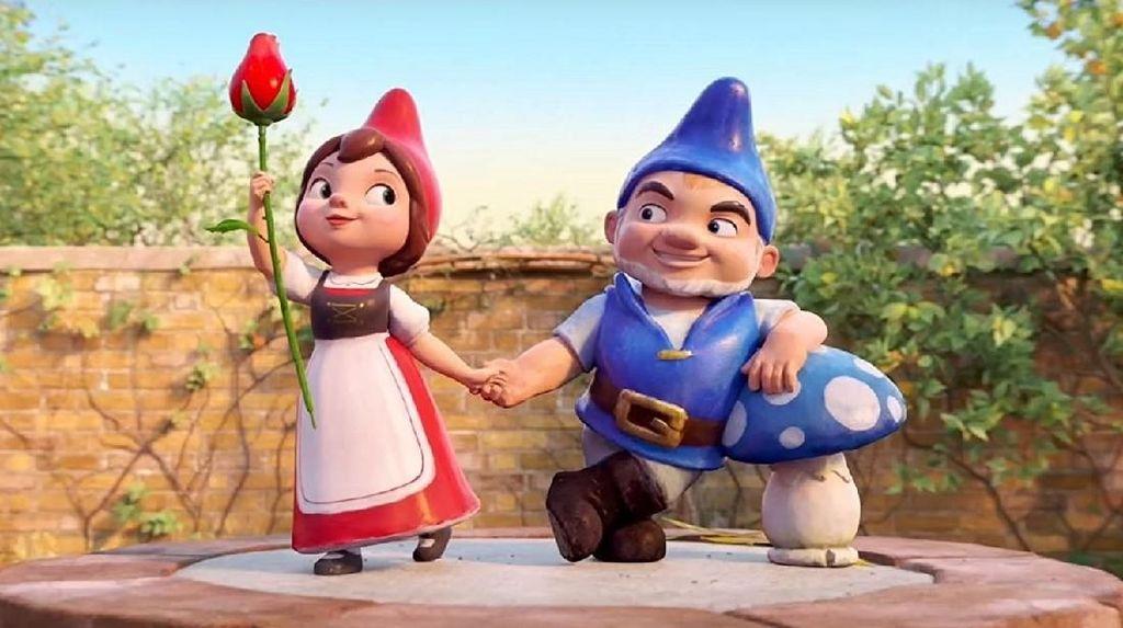 Sherlock Gnomes Kisah Misteri Dibalut Pesan Moral untuk Anak-Anak
