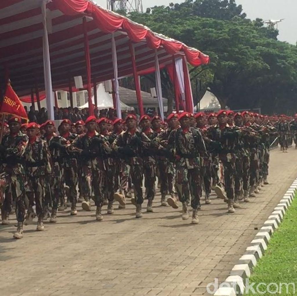 Mayjen Madsuni ke Kopassus: Tingkatkan Latihan dan Siap Bela Negara