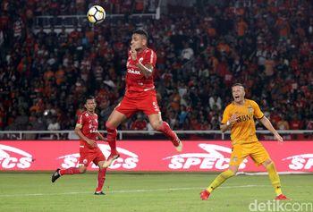 Foto: Bhayangkara FC-Persija Sama Kuat