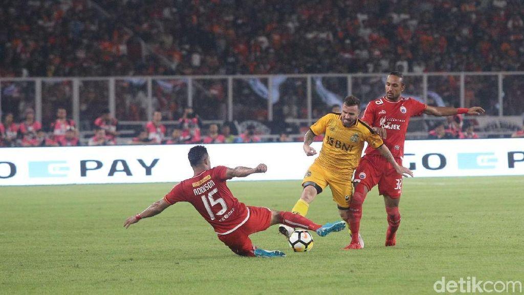Bhayangkara FC Vs Persija Selesai Tanpa Gol