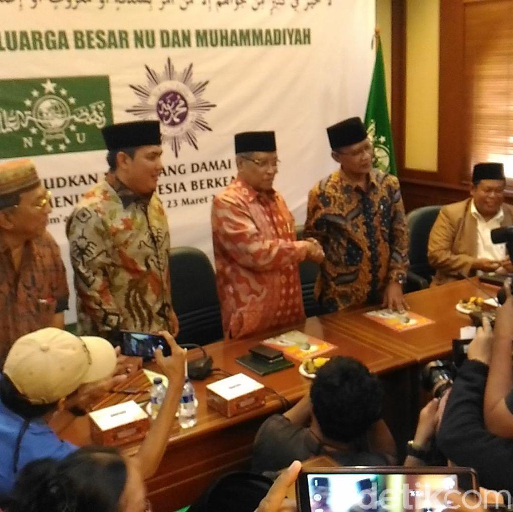 Ketum PP Muhammadiyah dan Ketum PBNU Bertemu, Sukmawati Ikut