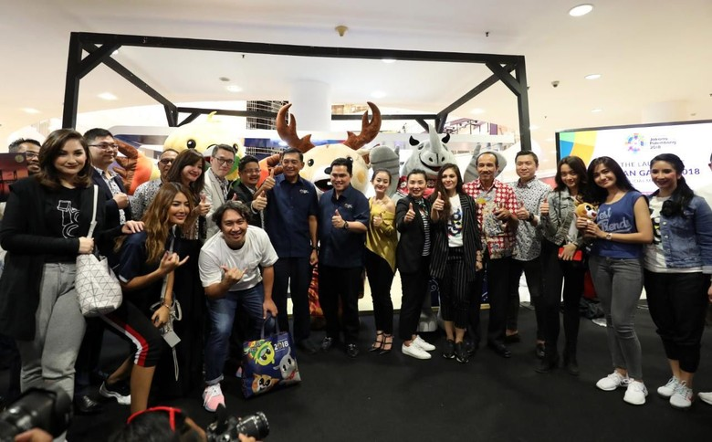 Peluncuran Merchandise Asian Games 2018