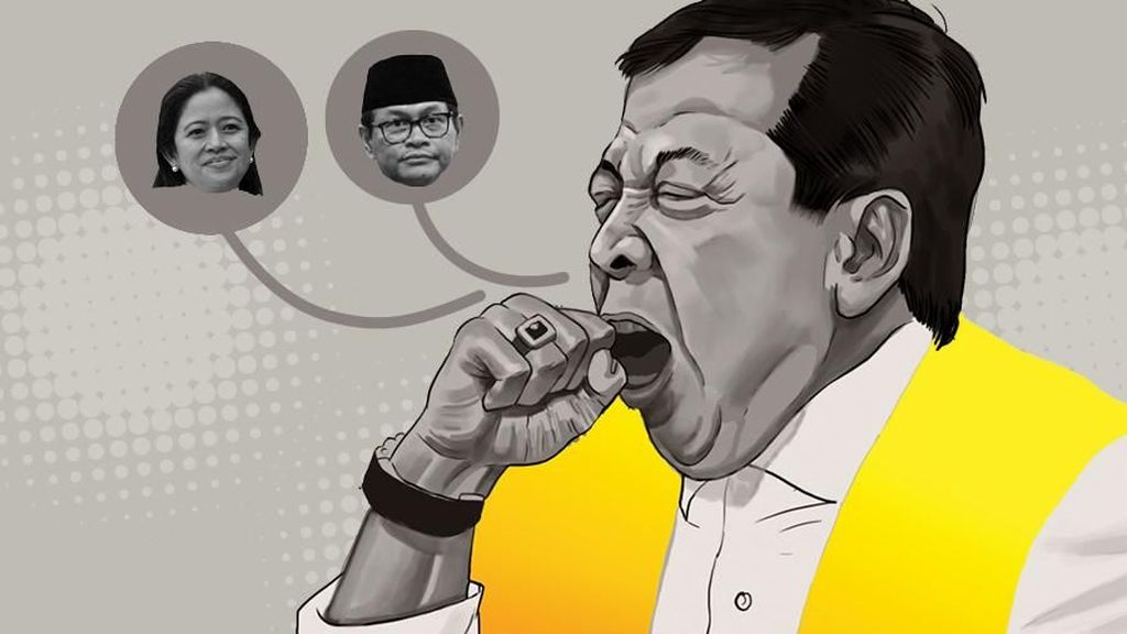 Setnov Sebut Puan Maharani dan Pramono Anung Terima Duit E-KTP