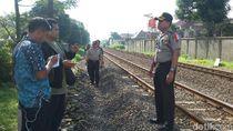 Pemuda di Bandung Tewas Tersambar KA Lodaya Jurusan Solo