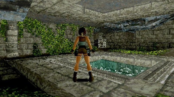Game Tomb Raider. Foto: internet