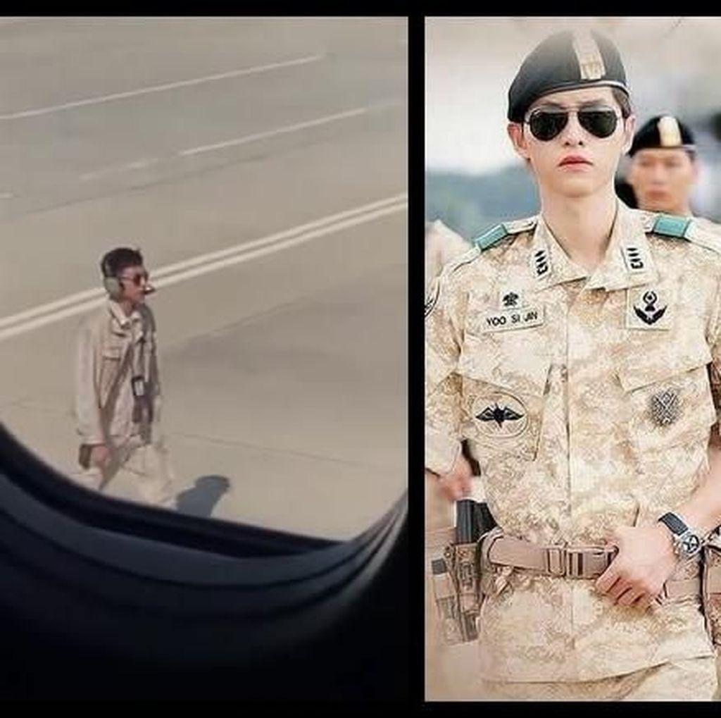 Petugas Bandara Bergaya Ala Aktor Korea, Jadi Viral Tapi Didenda