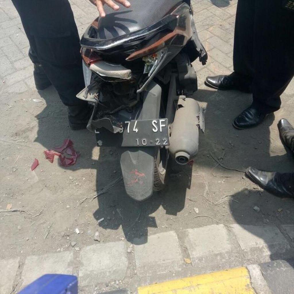 Seorang Polisi Meninggal Setelah Motornya Tertabrak Truk