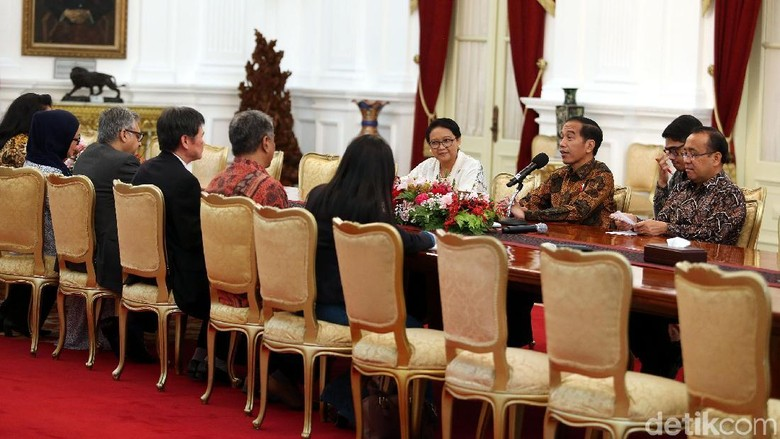 Sekjen ASEAN Temui Jokowi