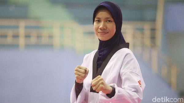 Mariska Halinda Bidik Emas Taekwondo di Asian Games