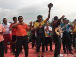 Main Musik Bareng PNS, Sandi Tantang Elek Yo Band