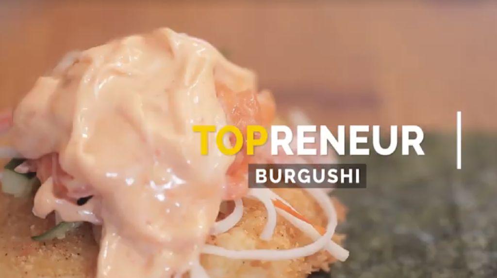 Perkawinan Sushi dan Burger Ini Beromzet Rp 200 Juta/Bulan