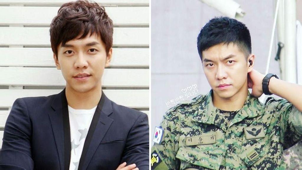 Jadi Beda, Ini Before-After Penampilan Artis Korea yang Wajib Militer