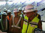 Tinjau Proyek MRT, Sandiaga Sebut Konstruksi Sudah 92%