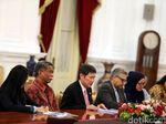 Bertemu Jokowi, Sekjen ASEAN Puji Pembangunan Sekretariat di RI