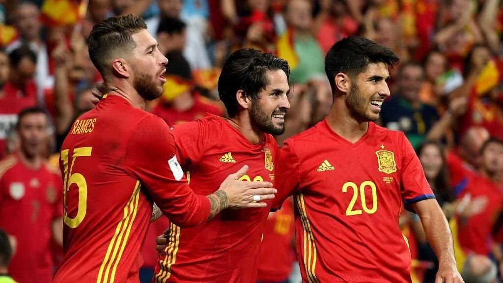 Timnas Spanyol Kini Didominasi Madrid, Bukan Barca