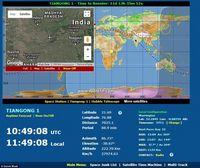 Situs Ini Secara Real Time Lacak Keberadaan Tiangong-1