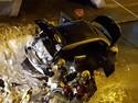 Waduh, Mobil Listrik Terbakar, Padahal Lagi Diparkir