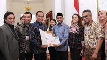 Terima Hasil Konferensi Musik, Jokowi Fokuskan Tata Kelola Karya