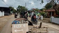 Warga Batang Masih Blokir Jalan Menuju Proyek Tol