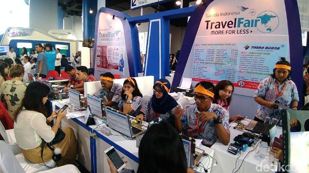 Di GATF Surabaya Kenalkan Rute Denpasar-Mumbay