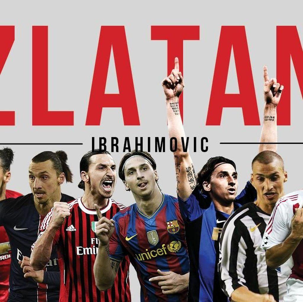 7 Negara, 9 Klub, dan 1 Nama: Zlatan Ibrahimovic