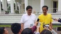 Airlangga Siap Jadi Cawapres Jokowi