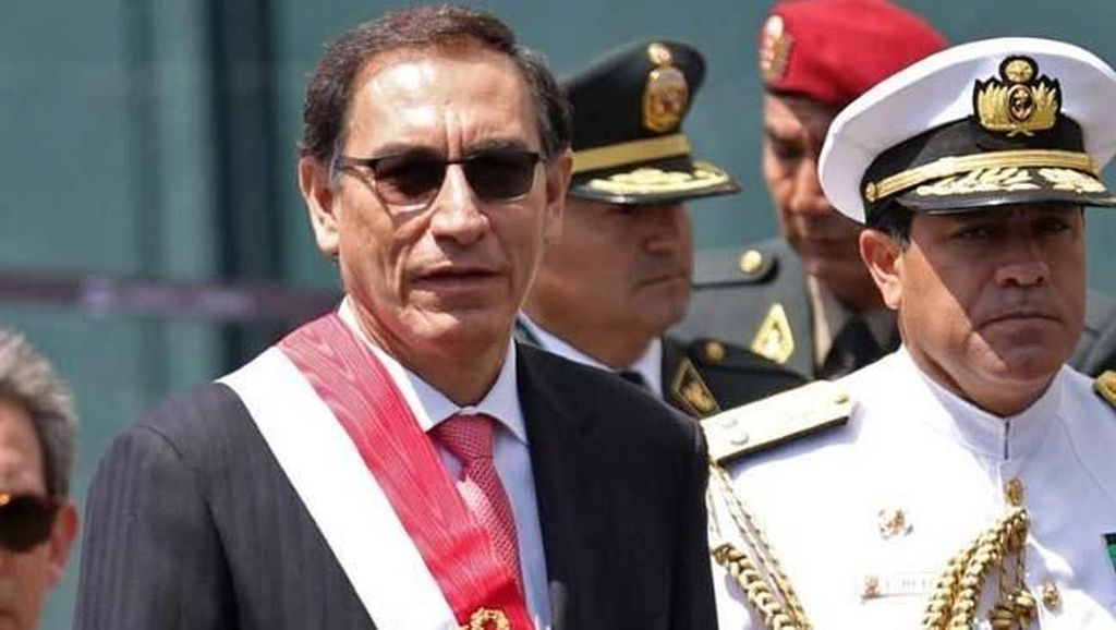 Presiden Baru Peru Dilantik Usai Drama Pemakzulan