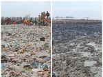 Before After Sepekan Usai Teluk Jakarta Jadi Lautan Sampah