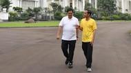 Kemesraan Jokowi-Airlangga di Joging Pagi untuk Tes Pasar?