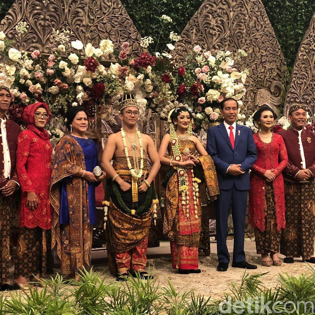 Jokowi-JK Hadiri Pernikahan Anak Ketua DPRD DKI Jakarta