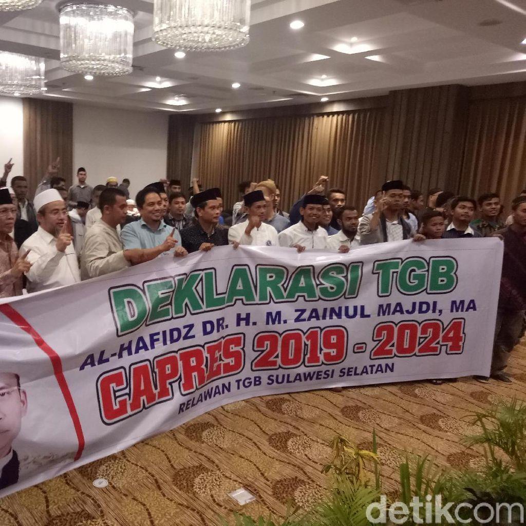 Didorong Relawan Sulsel Jadi Capres, TGB: Saya Berterimakasih
