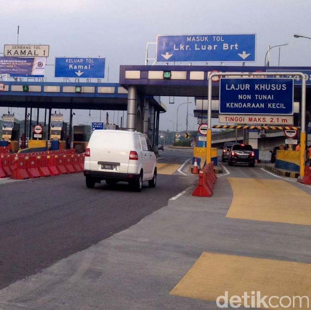 Transaksi Ditiadakan, Kemacetan di GT Kayu Besar Berkurang 10%