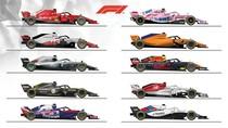 Line-up F1 2018