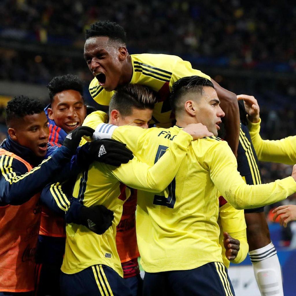 Buang Keunggulan Dua Gol, Prancis Dikalahkan Kolombia 2-3