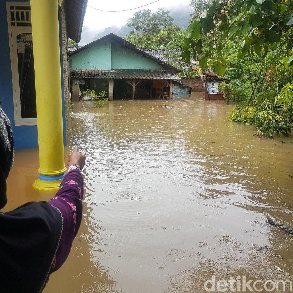 Puluhan Rumah di Palabuhanratu Sukabumi Terendam Banjir